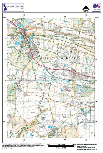 OS 1:25k Mapping