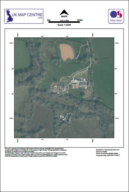OS Aerial Photography Extract