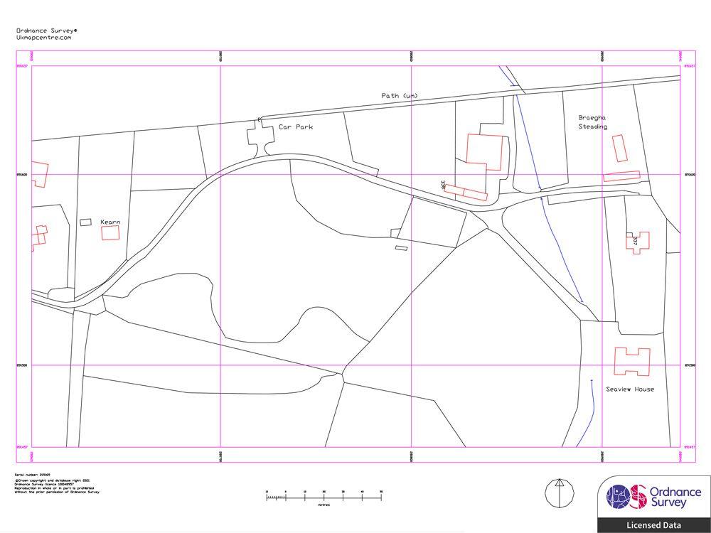Ordnance Survey CAD Data in DXF or DWG