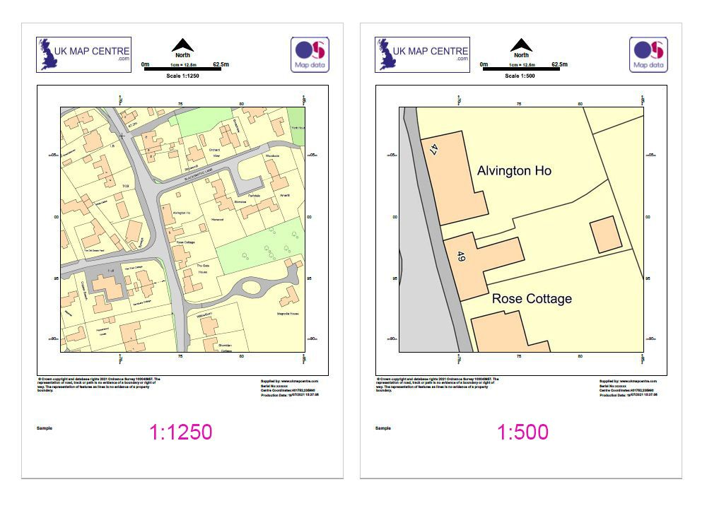 Ordnance Survey Planning Application Extracts
