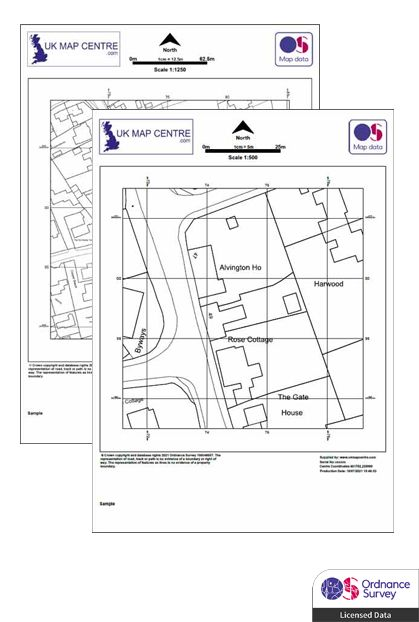 OS Planning Application Mapping