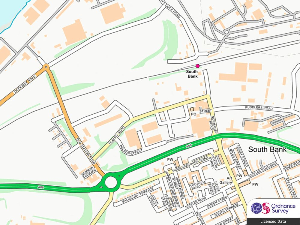 Ordnance Survey Street Mapping Extract